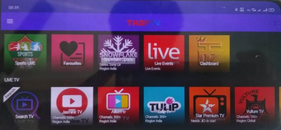 [Download] Top 5 Best free Indian live TV App for Android in Hindi   Thop tv apk download