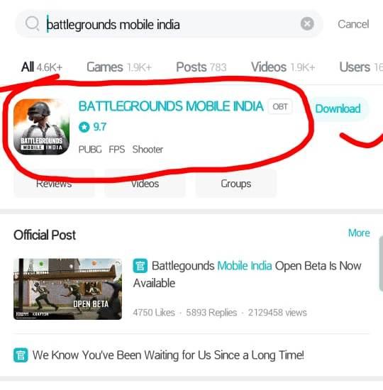 {Download} Battleground Mobile India Apk 2021   Pubg Mobile India Game Download In Hindi