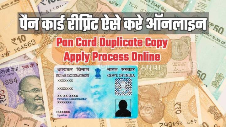 Pan Card Reprint कैसे करे?   Duplicate Pan Card Order कैसे करे? Reprint pan card online How to Reprint Pan Card Reprint Pan Card In hindi